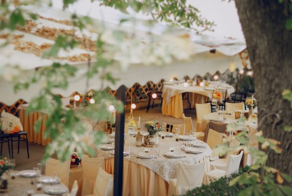Differentiate Your Wedding Venue with a Commercial Retractable Canopy