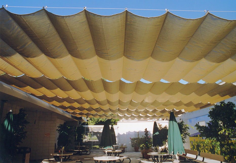 Slide on Wire Canopies | RetractableStructures.com