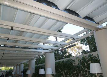 Retractable Canopy at the Waldorf Astoria Beverly Hills